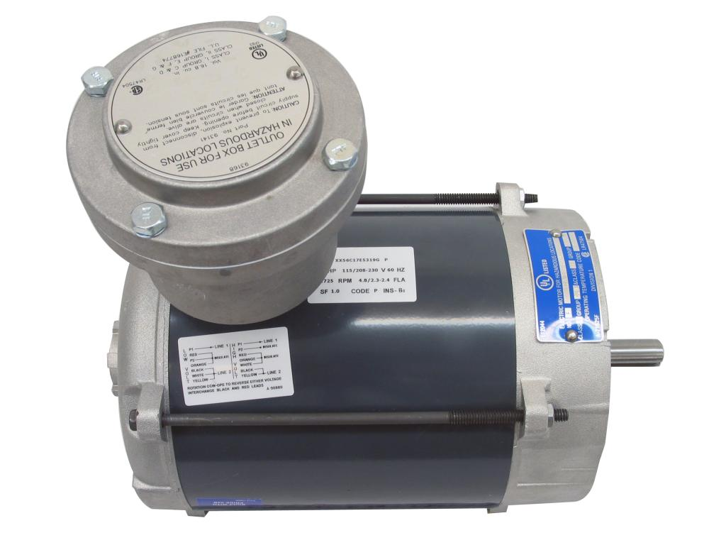 1/4 HP Explosion Proof Motor
