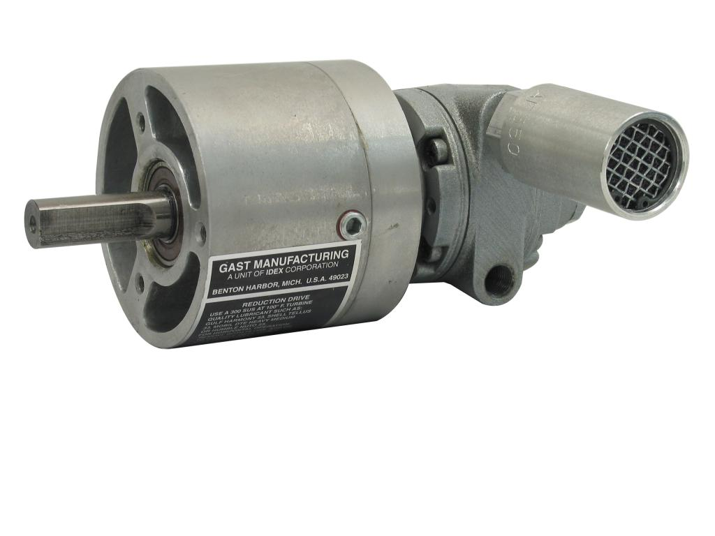 1/3 HP Gear Reduced Air Motor Image