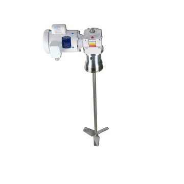"4"" Tri-Clamp® Mount 1/2 HP Electric Washdown Gear Reduced Variable Speed Mixer Image"