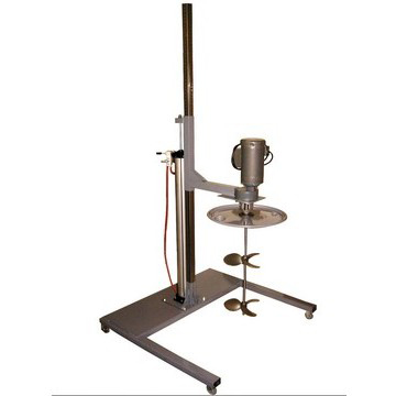 Air Lift Style Drum Lid Mixer Mounting Stand with Casters  Image