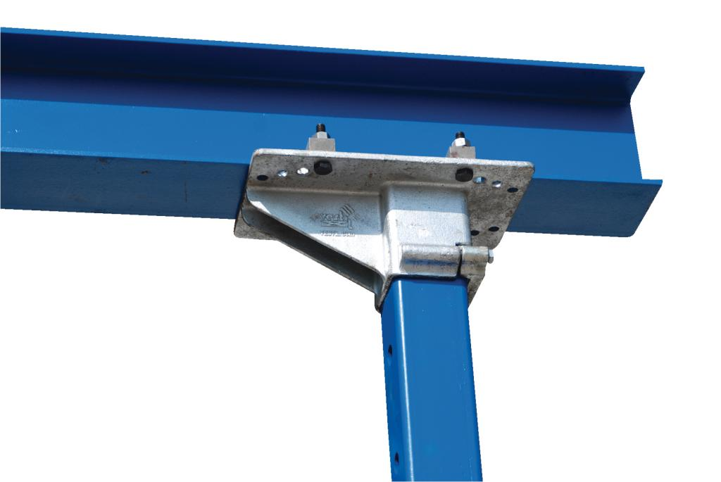 Steel Gantry Crane, 15' Wide, 14' Adjustable Height - image 3