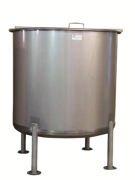 700-Gallon Stainless Steel Mixing Tank Image
