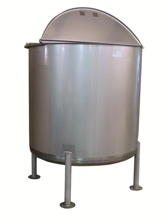 700-Gallon Stainless Steel Mixing Tank - image 2
