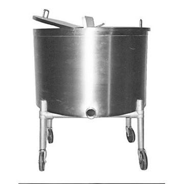 30-Gallon 304 Stainless Steel Portable Mixing Vat Image